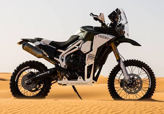 Triumph Tiger Tramontana to race in Pan-African rally Image #721586