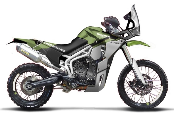 Triumph Tiger Tramontana to race in Pan-African rally Image #721595