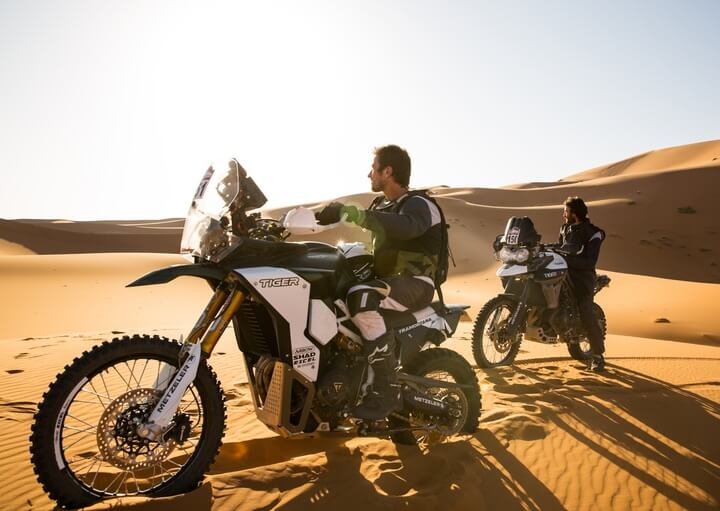 Triumph Tiger Tramontana to race in Pan-African rally Image #721587