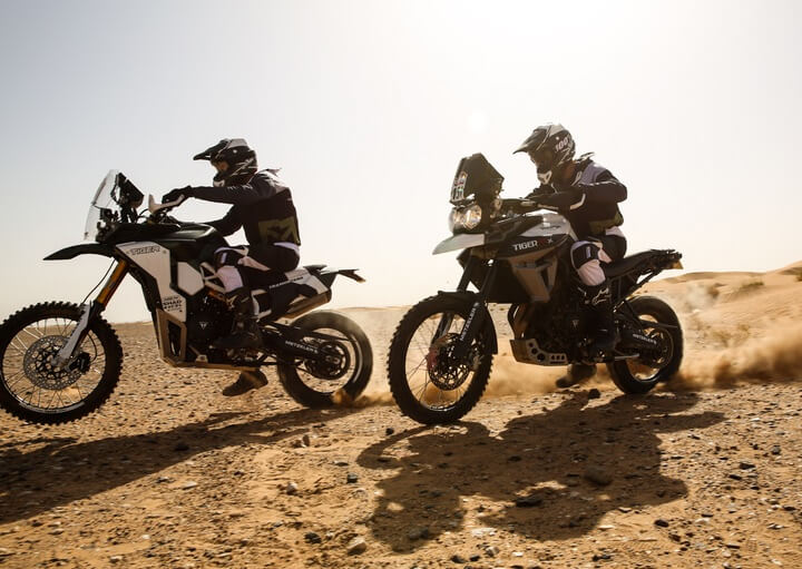 Triumph Tiger Tramontana to race in Pan-African rally Image #721590