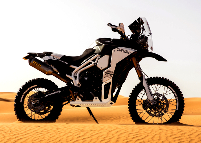 Triumph Tiger Tramontana to race in Pan-African rally Image #721592
