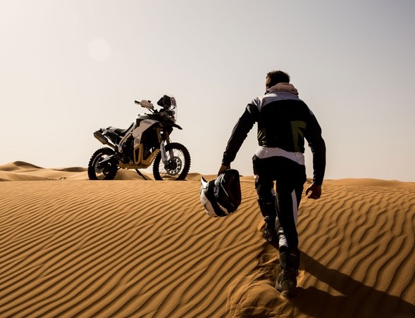 Triumph Tiger Tramontana to race in Pan-African rally Image #721594