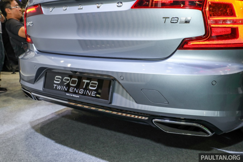 Volvo S90 T8 Twin Engine Inscription CKD launched, 407 hp and 640 Nm plug-in hybrid, from RM368,888 Image #731868