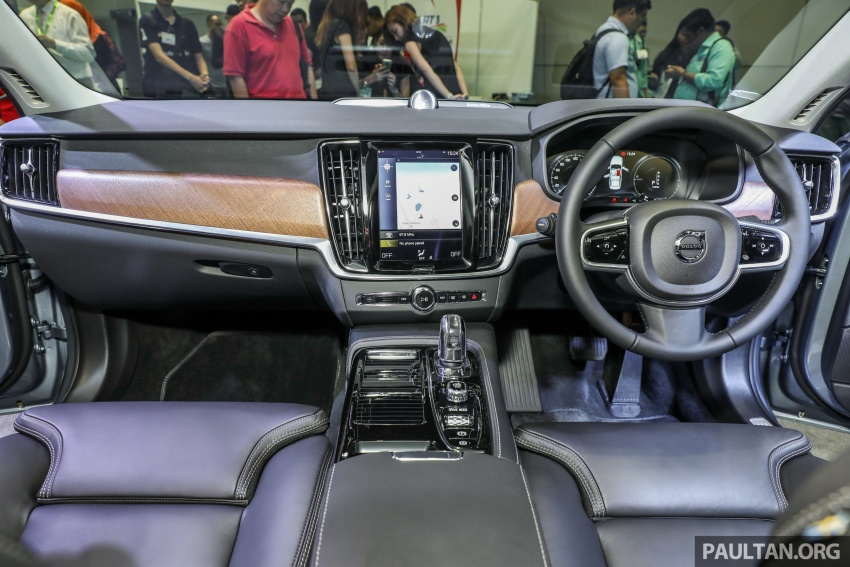 Volvo S90 T8 Twin Engine Inscription CKD launched, 407 hp and 640 Nm plug-in hybrid, from RM368,888 Image #731877