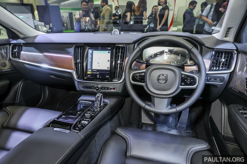 Volvo S90 T8 Twin Engine Inscription CKD launched, 407 hp and 640 Nm plug-in hybrid, from RM368,888 Image #731894