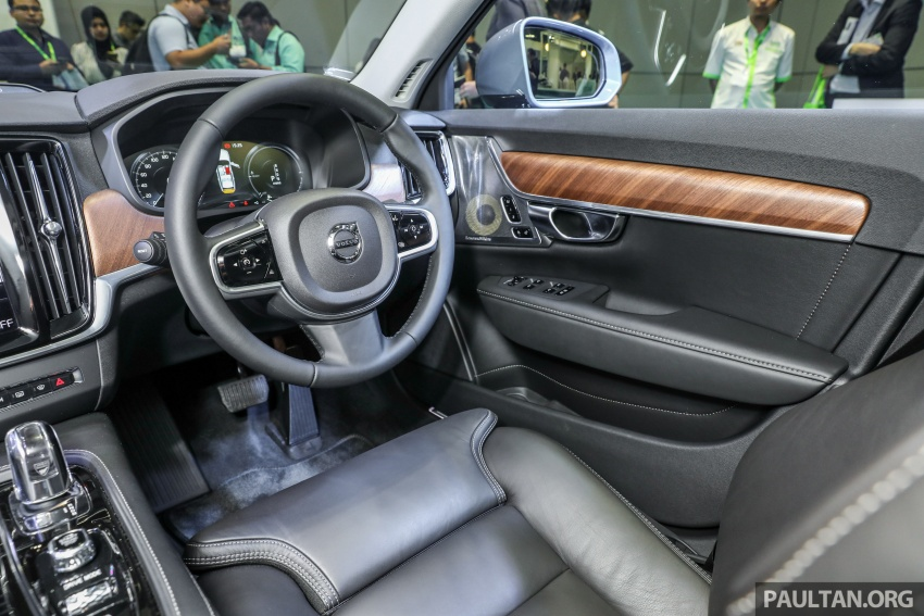 Volvo S90 T8 Twin Engine Inscription CKD launched, 407 hp and 640 Nm plug-in hybrid, from RM368,888 Image #731895