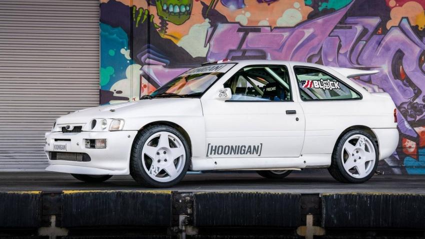 Ken Block dedah jentera baharunya – Ford Escort RS Cosworth spesifikasi WRC Group A berkuasa 400 hp Image #721214
