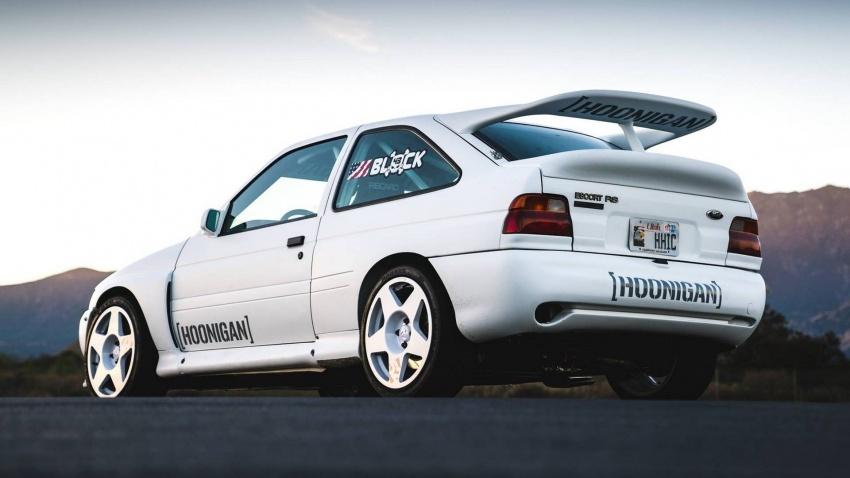 Ken Block dedah jentera baharunya – Ford Escort RS Cosworth spesifikasi WRC Group A berkuasa 400 hp Image #721213