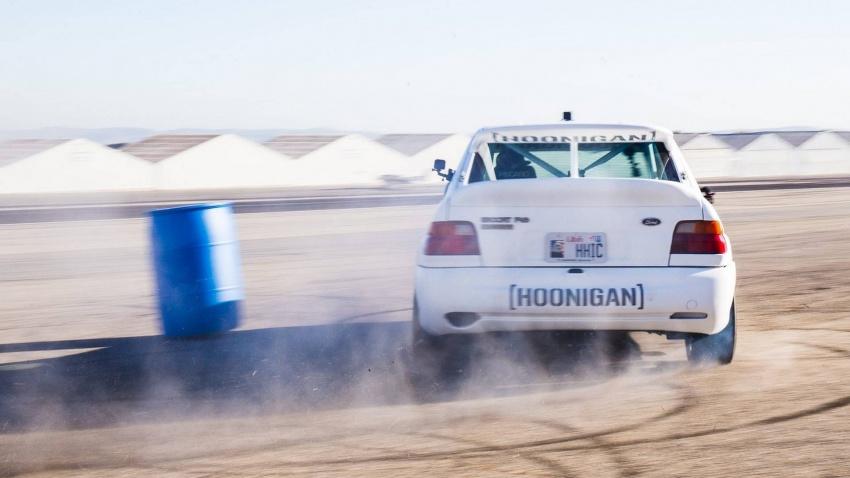 Ken Block dedah jentera baharunya – Ford Escort RS Cosworth spesifikasi WRC Group A berkuasa 400 hp Image #721212