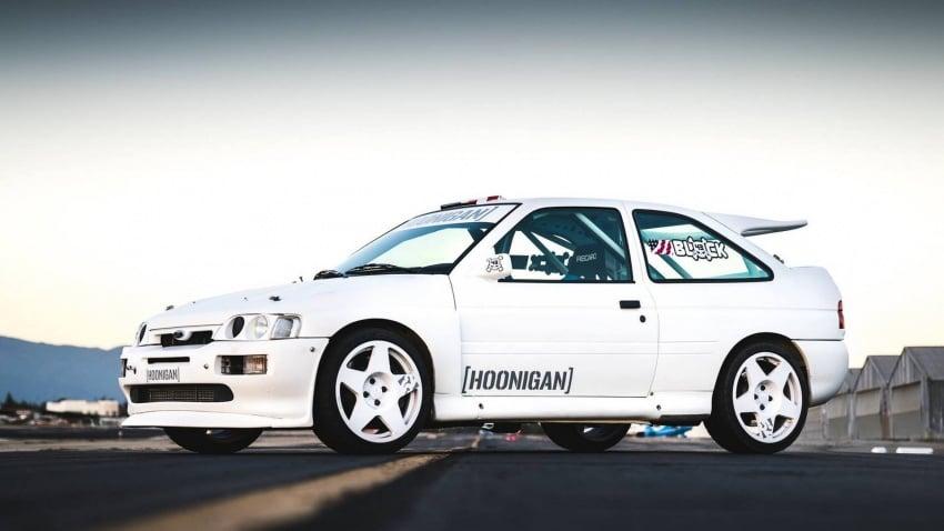 Ken Block dedah jentera baharunya – Ford Escort RS Cosworth spesifikasi WRC Group A berkuasa 400 hp Image #721216