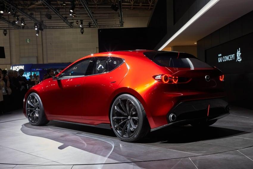 Tokyo 2017: Mazda Kai Concept – SkyActiv-Vehicle Architecture, SkyActiv-X engine; next-gen Mazda 3? Image #729314