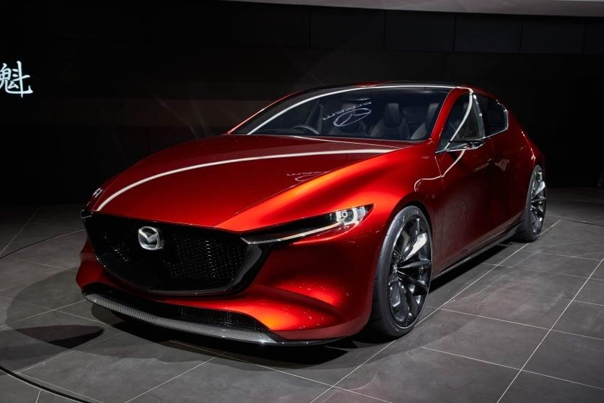 Tokyo 2017: Mazda Kai Concept – SkyActiv-Vehicle Architecture, SkyActiv-X engine; next-gen Mazda 3? Image #729324