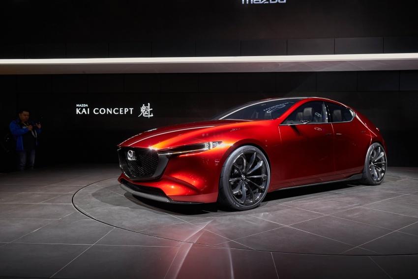 Tokyo 2017: Mazda Kai Concept – SkyActiv-Vehicle Architecture, SkyActiv-X engine; next-gen Mazda 3? Image #729315