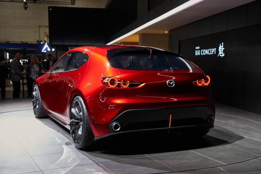 Tokyo 2017: Mazda Kai Concept – SkyActiv-Vehicle Architecture, SkyActiv-X engine; next-gen Mazda 3? Image #729321