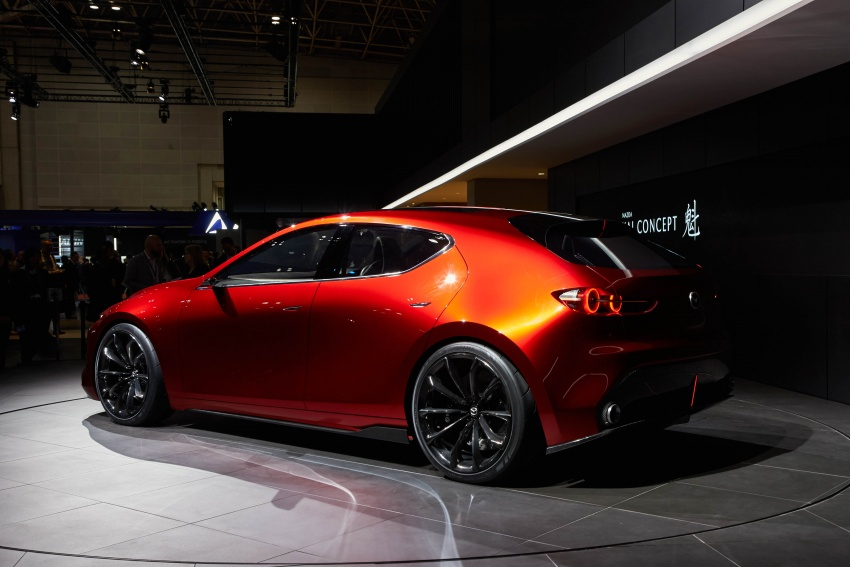 Tokyo 2017: Mazda Kai Concept – SkyActiv-Vehicle Architecture, SkyActiv-X engine; next-gen Mazda 3? Image #729322