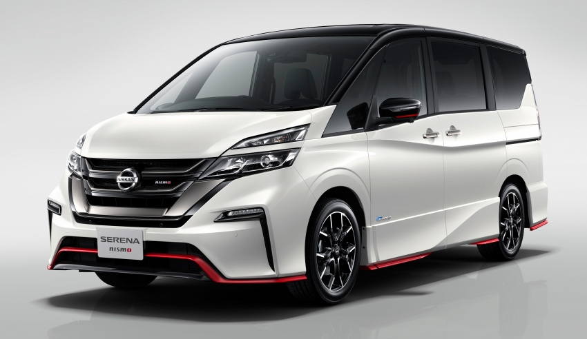 Nissan Serena Nismo makes for a sportier proposition Image #718509