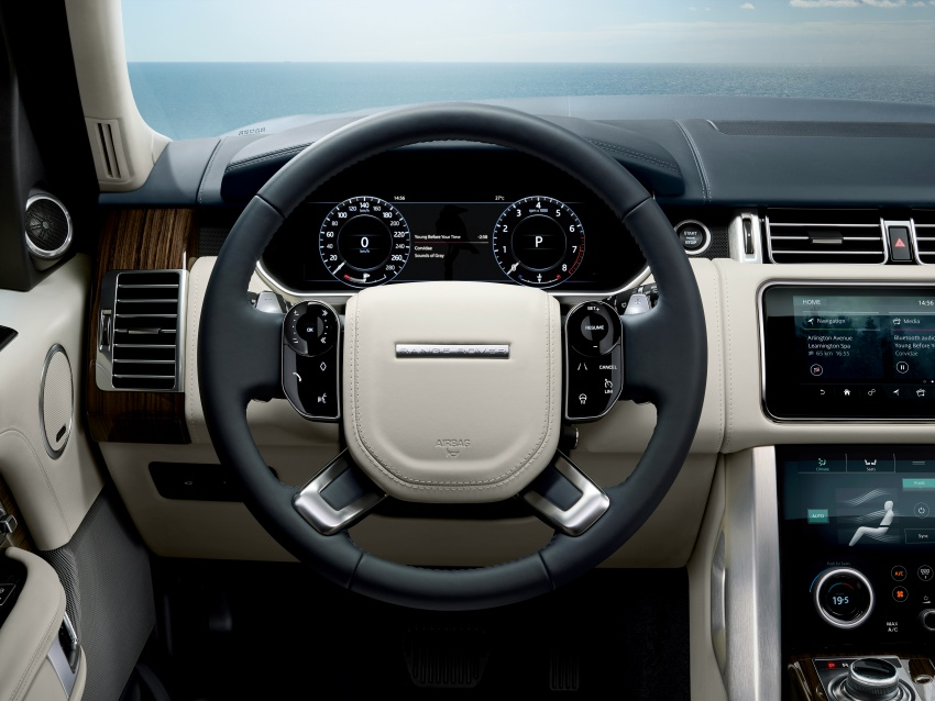 Range Rover facelift gets PHEV variant, added luxury Image #722791