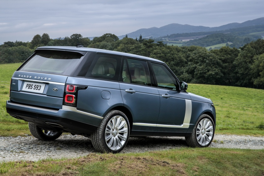 Range Rover facelift gets PHEV variant, added luxury Image #722819
