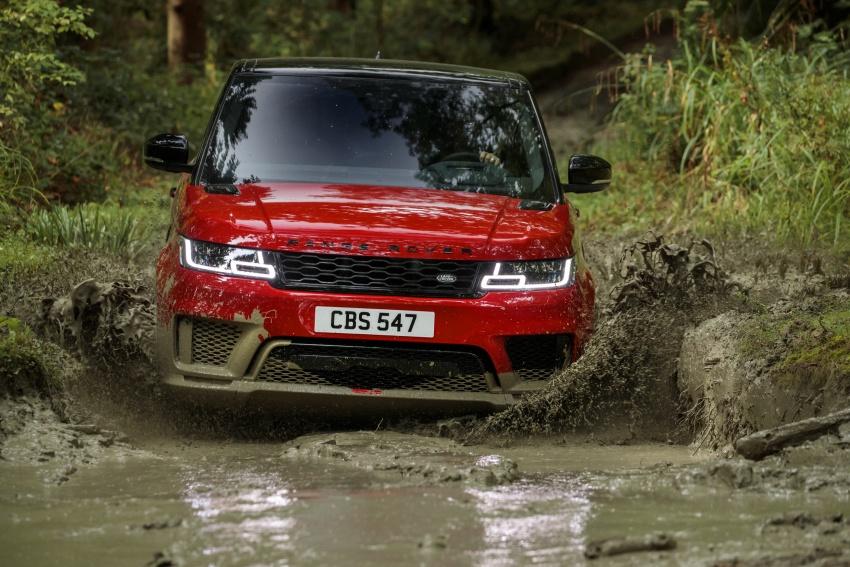 Range Rover Sport facelift – new P400e plug-in hybrid Image #719681