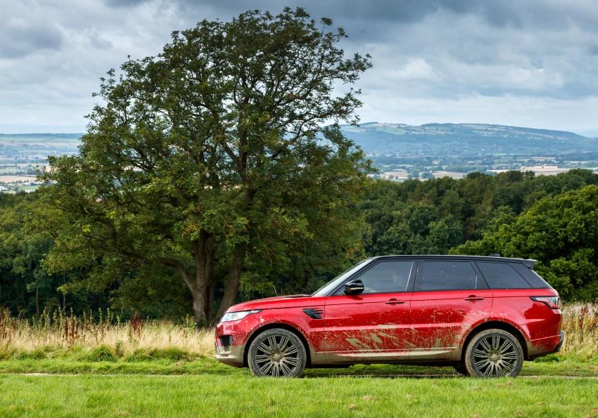 Range Rover Sport facelift – new P400e plug-in hybrid Image #719682