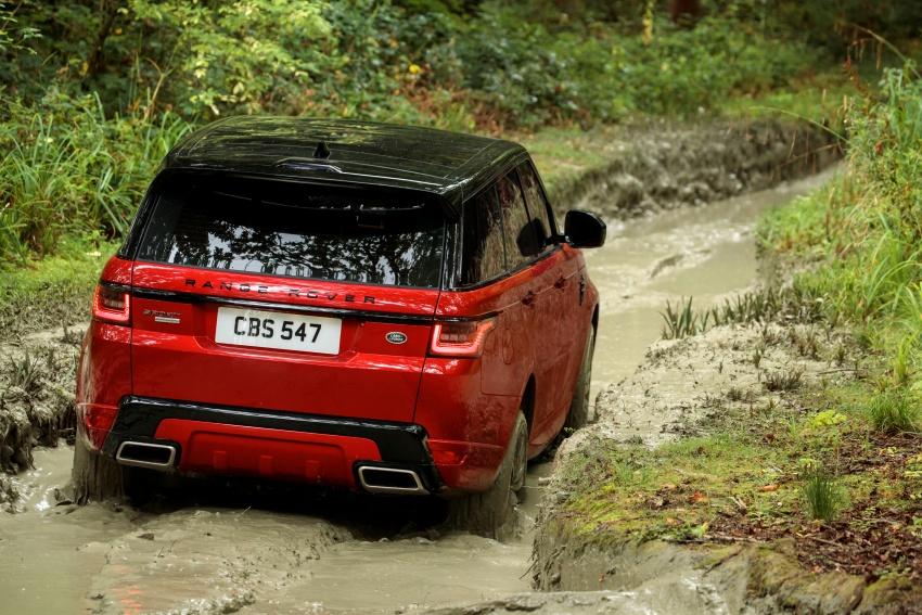 Range Rover Sport facelift – new P400e plug-in hybrid Image #719684