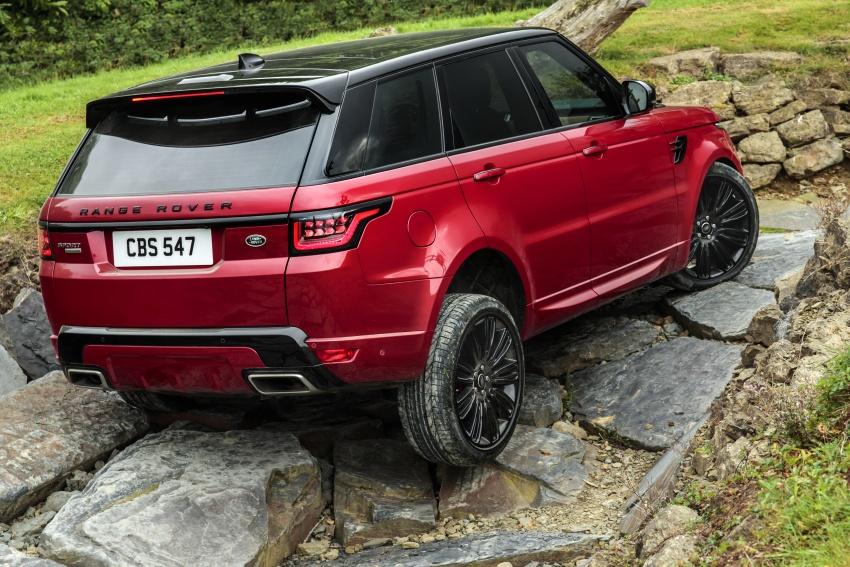 Range Rover Sport facelift – new P400e plug-in hybrid Image #719686