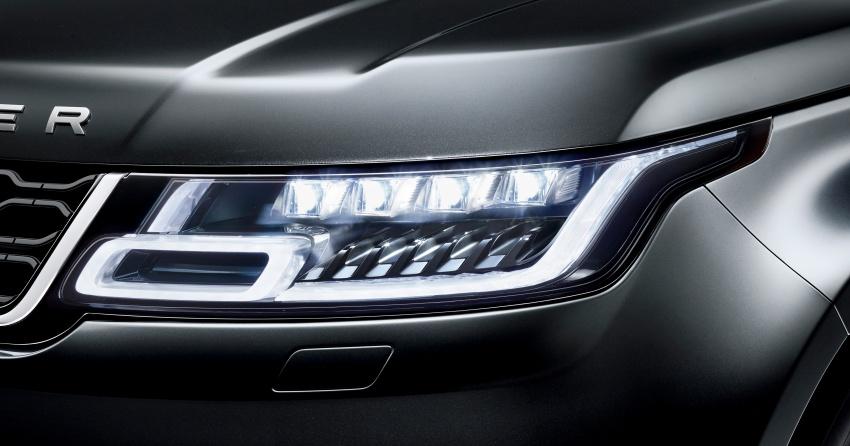 Range Rover Sport facelift – new P400e plug-in hybrid Image #719687