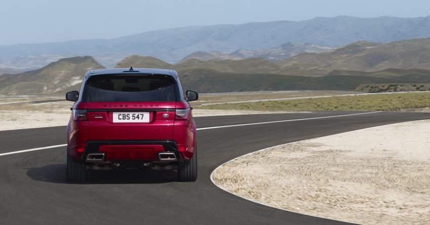 Range Rover Sport facelift – new P400e plug-in hybrid Image #719692