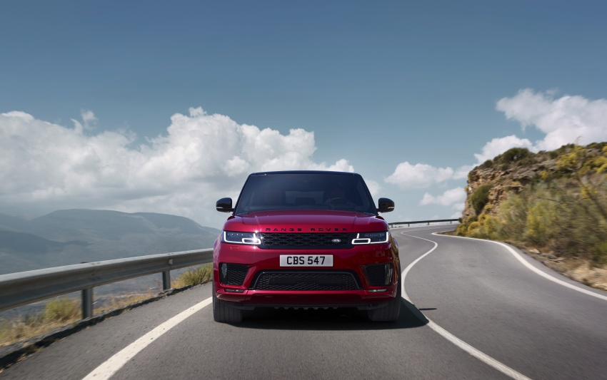 Range Rover Sport facelift – new P400e plug-in hybrid Image #719694