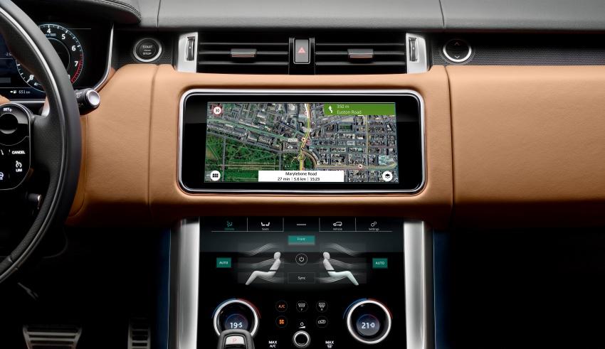 Range Rover Sport facelift – new P400e plug-in hybrid Image #719696