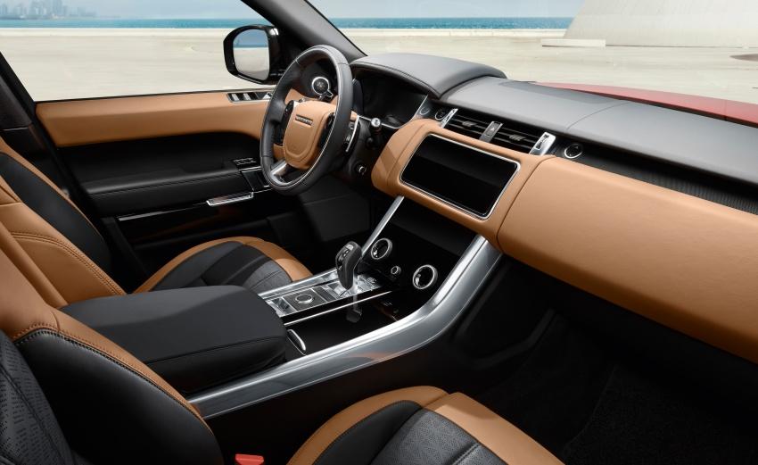 Range Rover Sport facelift – new P400e plug-in hybrid Image #719697