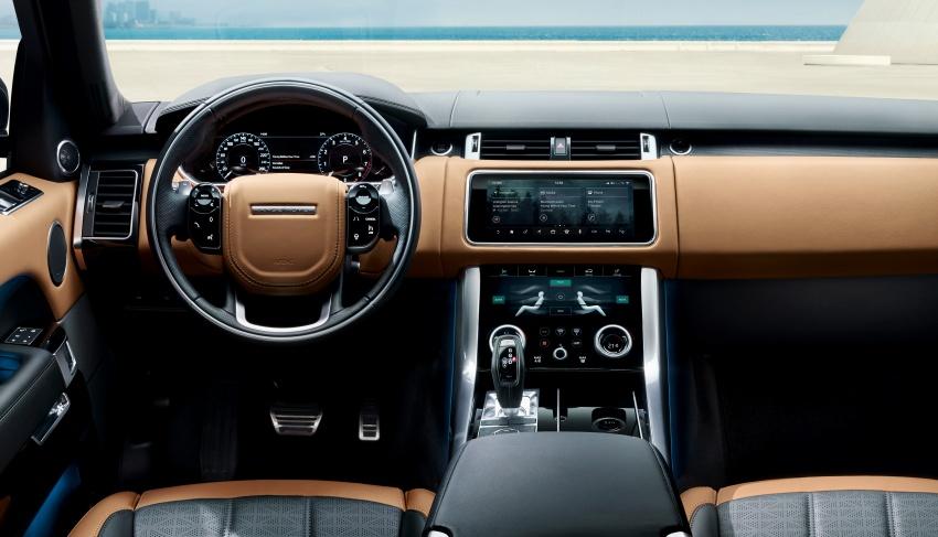 Range Rover Sport facelift – new P400e plug-in hybrid Image #719698