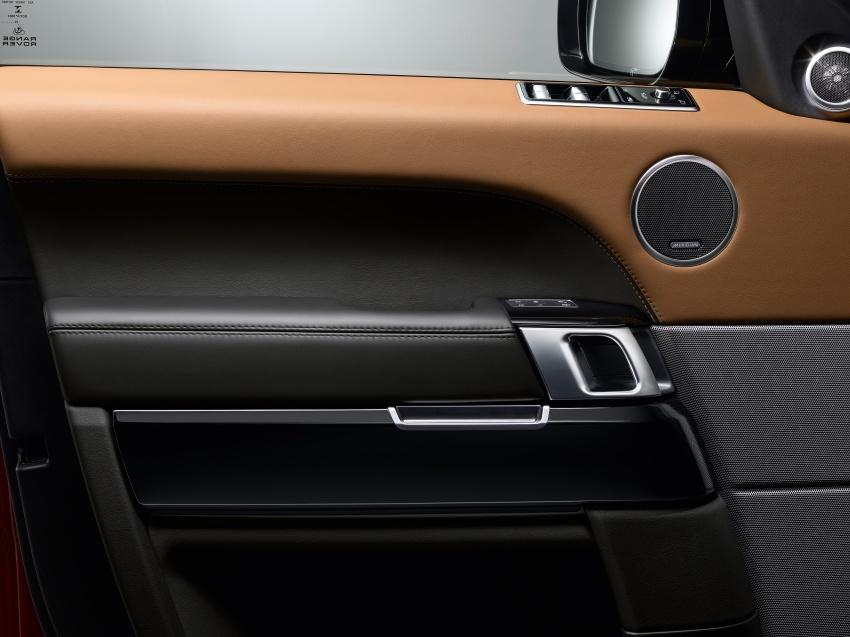 Range Rover Sport facelift – new P400e plug-in hybrid Image #719699