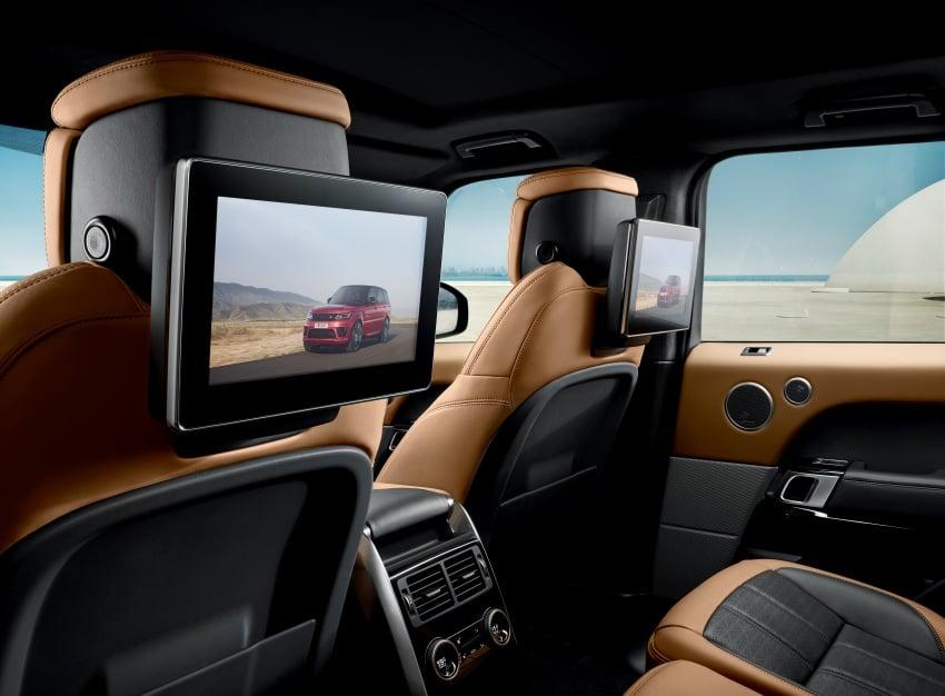 Range Rover Sport facelift – new P400e plug-in hybrid Image #719701