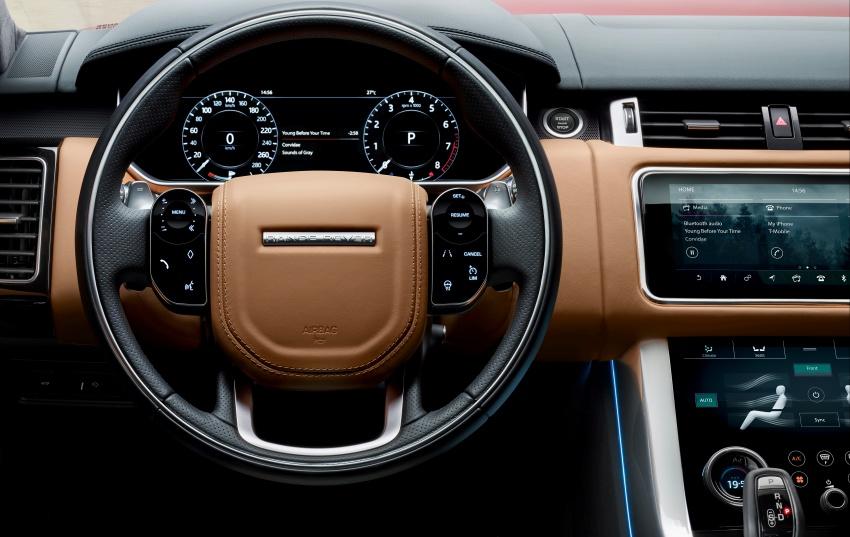 Range Rover Sport facelift – new P400e plug-in hybrid Image #719702
