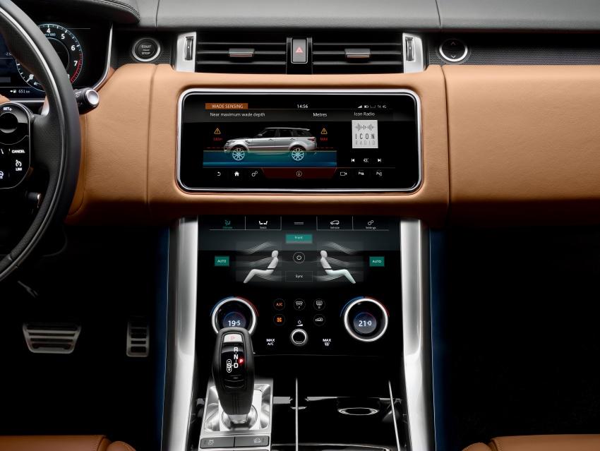 Range Rover Sport facelift – new P400e plug-in hybrid Image #719704