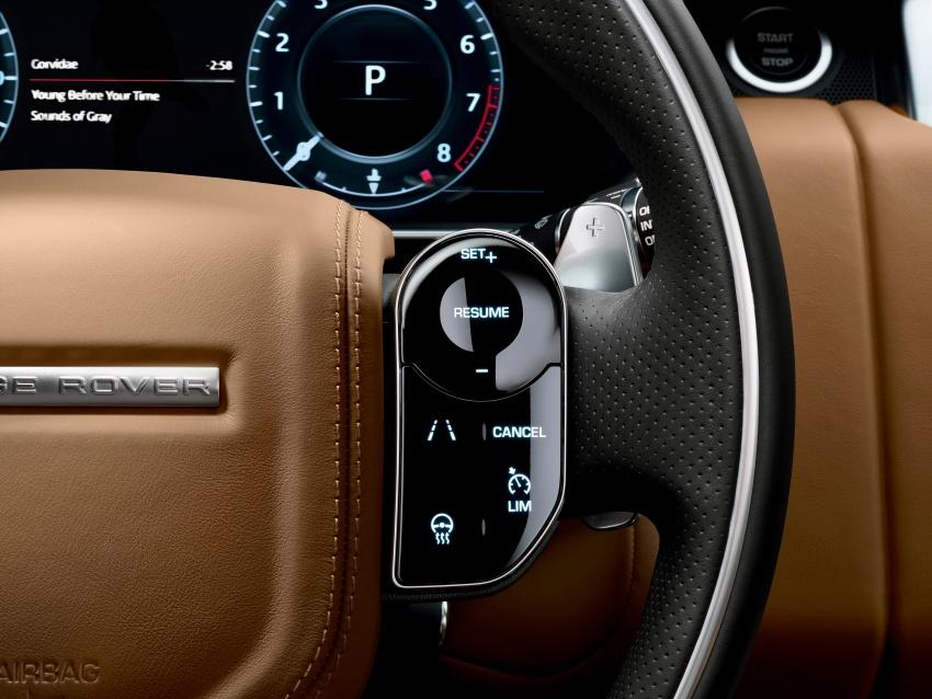 Range Rover Sport facelift – new P400e plug-in hybrid Image #719707