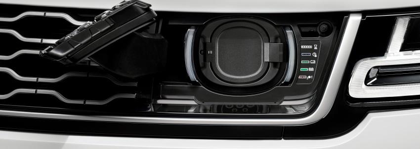 Range Rover Sport facelift – new P400e plug-in hybrid Image #719726
