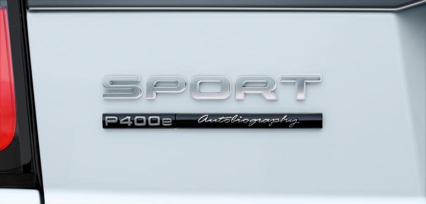 Range Rover Sport facelift – new P400e plug-in hybrid Image #719731