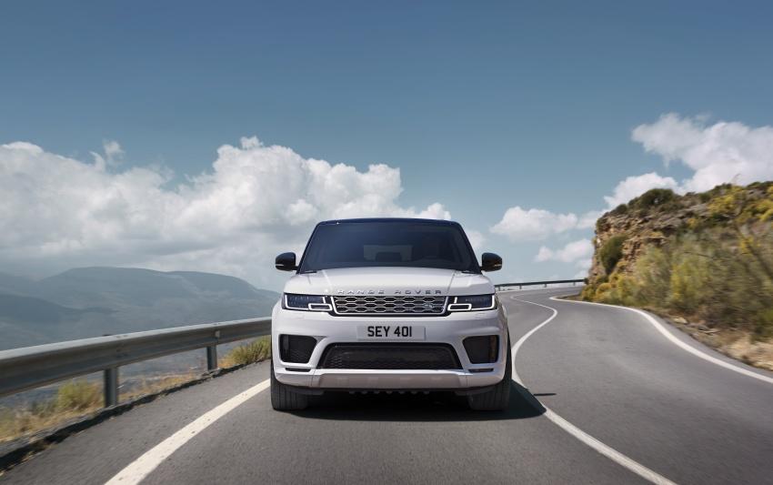 Range Rover Sport facelift – new P400e plug-in hybrid Image #719733