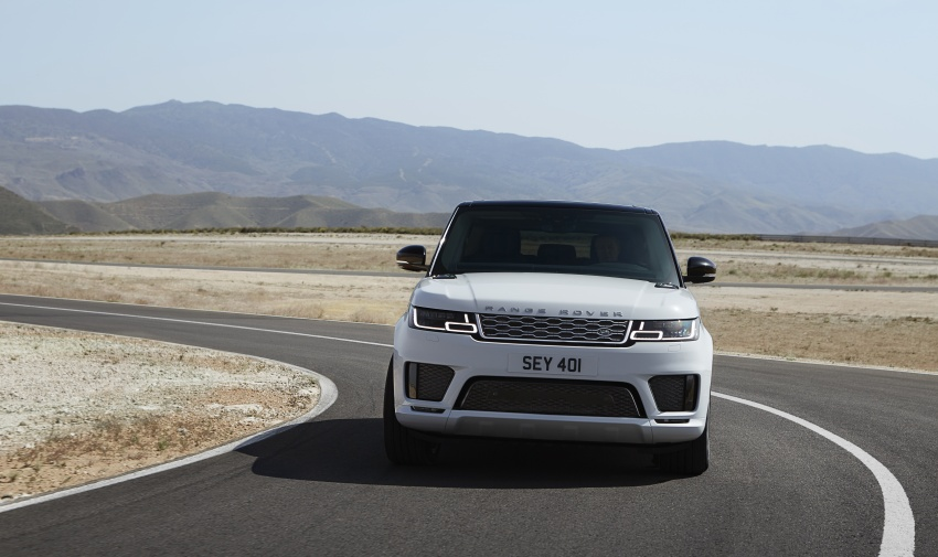 Range Rover Sport facelift – new P400e plug-in hybrid Image #719737