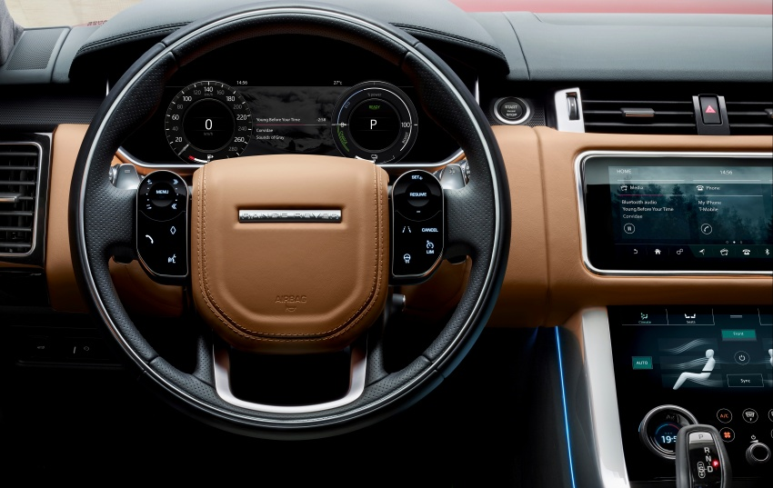Range Rover Sport facelift – new P400e plug-in hybrid Image #719739