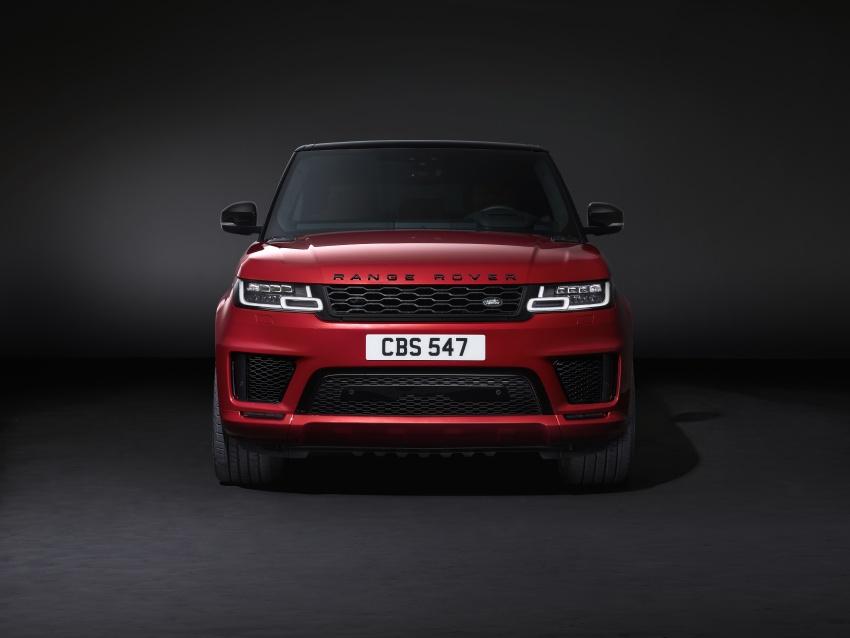 Range Rover Sport facelift – new P400e plug-in hybrid Image #719709