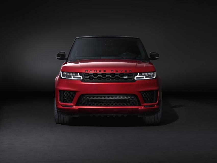 Range Rover Sport facelift – new P400e plug-in hybrid Image #719710
