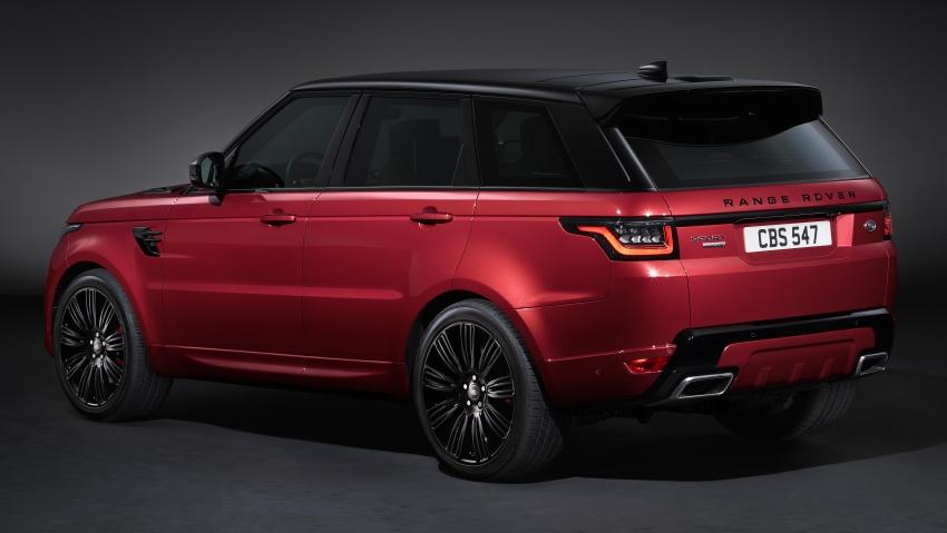 Range Rover Sport facelift – new P400e plug-in hybrid Image #719715