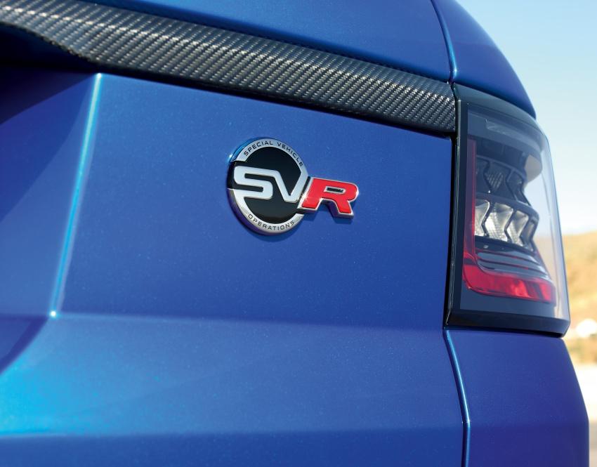 Range Rover Sport facelift – new P400e plug-in hybrid Image #719744