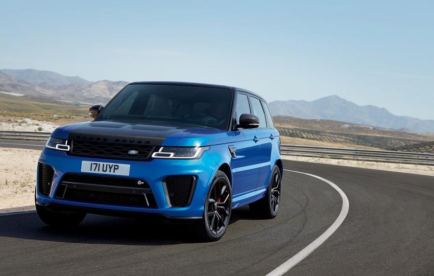Range Rover Sport facelift – new P400e plug-in hybrid Image #719758