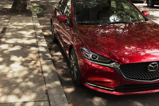 2018 Mazda 6 Teases New Face Interior Turbo Engine