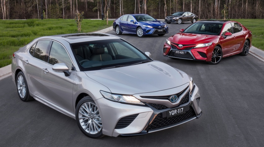 2018 Toyota Camry debuts in Australia – from RM86k Image #741226