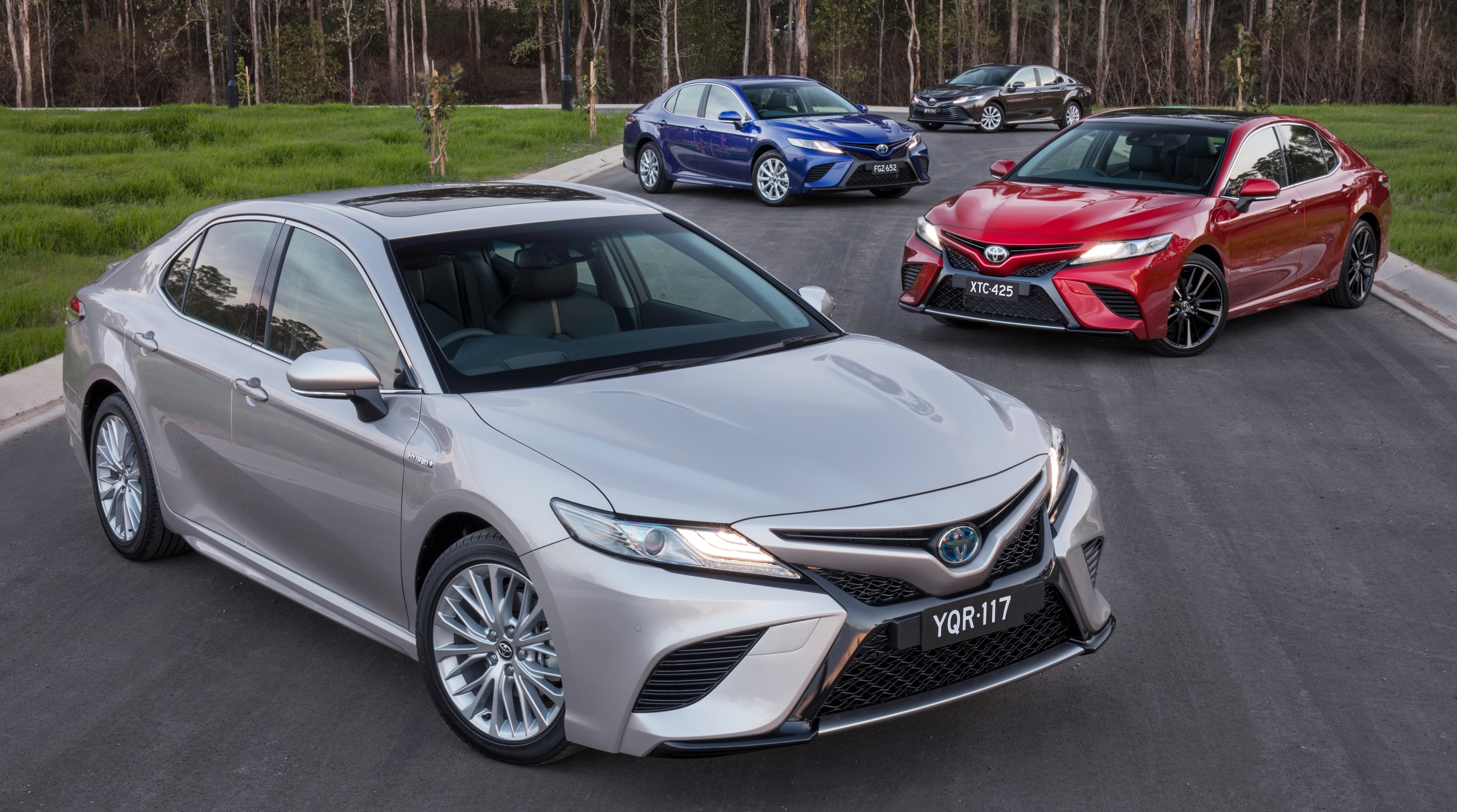 2018 toyota camry debuts in australia from rm86k image 741226. Black Bedroom Furniture Sets. Home Design Ideas